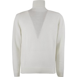 Drumohr White Merino Wool Sweater found on Bargain Bro UK from Italist