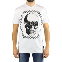 Philipp Plein Ss Skull White T-shirt found on MODAPINS from Italist for USD $475.15