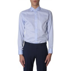 Z Zegna Slim Fit Shirt found on MODAPINS from Italist for USD $157.82