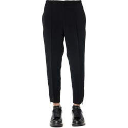 Alexander McQueen Black Zipped Viscose Pants found on MODAPINS from Italist for USD $672.74
