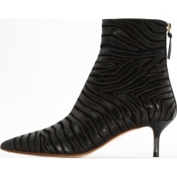 Francesco Russo Zebra Ankle Bootie found on MODAPINS from Italist for USD $559.34