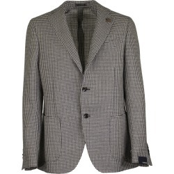 Lardini Single-breasted Two-button Jacket With Pied De Poule Motif found on MODAPINS from italist.com us for USD $683.51