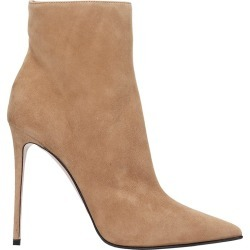 Le Silla High Heels Ankle Boots In Beige Suede found on MODAPINS from italist.com us for USD $676.78