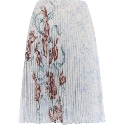 Prada Pleated Print Skirt found on MODAPINS from Italist Inc. AU/ASIA-PACIFIC for USD $882.50