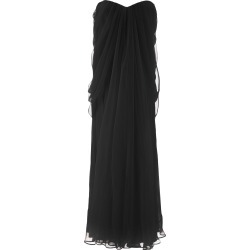 Alexander McQueen Long Silk Dress found on MODAPINS from Italist for USD $2681.31