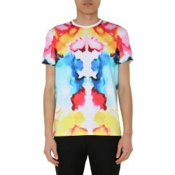 Alexander McQueen Round Neck T-shirt found on MODAPINS from italist.com us for USD $232.24