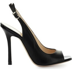 Marc Ellis Black Leather Sandal found on MODAPINS from italist.com us for USD $200.31