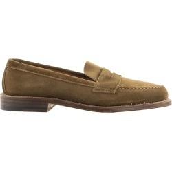 Alden Tan Suede Loafers found on MODAPINS from Italist for USD $1123.04