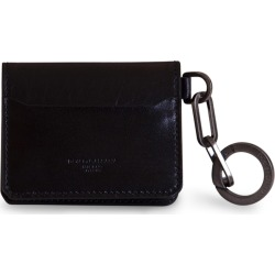 Dolce & Gabbana Horsehide Card Holder With Ring And Heat-stamped Logo found on Bargain Bro UK from Italist