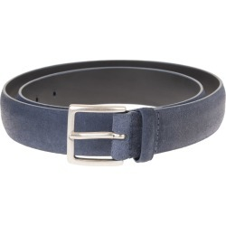 Orciani Man Jeans Blue 3.5cm Suede Cloudy Belt found on Bargain Bro UK from Italist