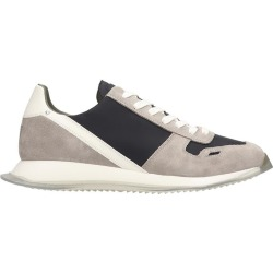 Rick Owens New Vintage Run Sneakers In Black Suede And Fabric found on Bargain Bro UK from Italist