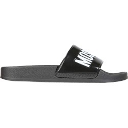 Moschino Slide Sandals With Logo found on Bargain Bro UK from Italist