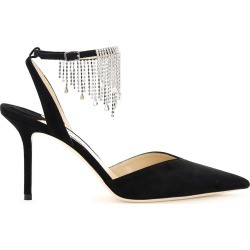 Jimmy Choo Birtie Slingback Pumps 85 With Crystals found on Bargain Bro UK from Italist