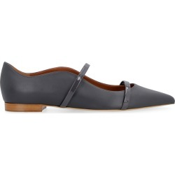 Malone Souliers Maureen Leather Ballet Flats found on MODAPINS from italist.com us for USD $429.01
