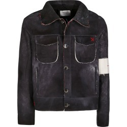 Handle with Freedom Black Cotton Jacket found on Bargain Bro UK from Italist