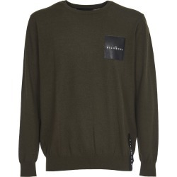 John Richmond Green Sweatre With Logo found on MODAPINS from Italist for USD $127.94