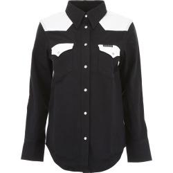 Calvin Klein Jeans Bicolor Denim Shirt found on Bargain Bro UK from Italist