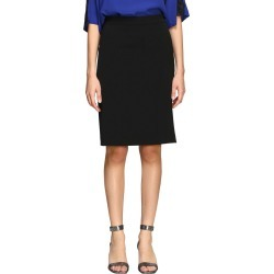 Boutique Moschino Skirt Boutique Moschino Skirt In Stretch Crêpe found on MODAPINS from Italist for USD $334.61