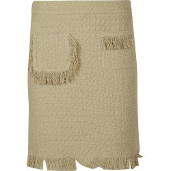 Moschino Fringe Detailed Skirt found on MODAPINS from Italist for USD $199.83