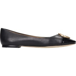 Tory Burch Chelsea Ballet Flats In Black Leather found on Bargain Bro UK from Italist