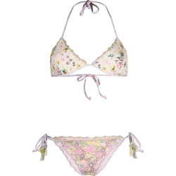 Anjuna Floral Reversible Bikini found on MODAPINS from Italist for USD $242.15