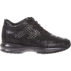 Hogan Embellished Shiny Suede Interactive found on MODAPINS from Italist for USD $293.65