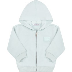 Dolce & Gabbana Tiffany Green Sweatshirt For Babykids With Logo found on Bargain Bro Philippines from italist.com us for $220.17
