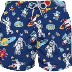 MC2 Saint Barth Astronauts Print Boy Swim Trunks found on Bargain Bro from italist.com us for USD $83.62