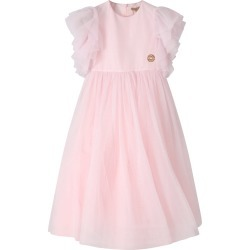 Elie Saab Pink Dress For Girl With Iconic Logo found on MODAPINS from italist.com us for USD $904.18