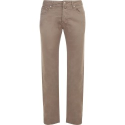 Jacob Cohen 5 Pockets Comfort Ppt Str Solid Linen found on MODAPINS from Italist for USD $393.97