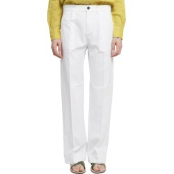 Massimo Alba White Sarago Trousers found on MODAPINS from Italist for USD $245.37