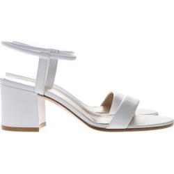 Gianvito Rossi White Leather Sandals