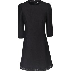 Dolce & Gabbana Fringed Bottom Mid-length Dress found on Bargain Bro Philippines from Italist Inc. AU/ASIA-PACIFIC for $1152.58