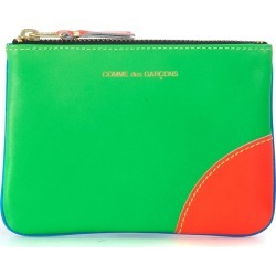 Bustina Comme Des Garçons Wallet In Pelle Fluo Verde E Blu found on Bargain Bro India from italist.com us for $111.38