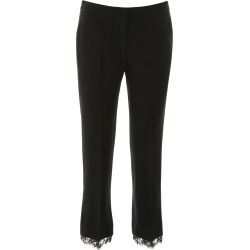 Alexander McQueen Cady Trousers With Lace found on MODAPINS from Italist for USD $779.31