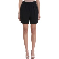 Neil Barrett Black Black Cupro Pence Shorts found on Bargain Bro UK from Italist