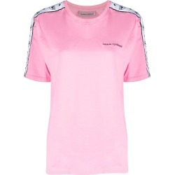 Chiara Ferragni Pink Cotton Oversized T-shirt found on MODAPINS from italist.com us for USD $136.52