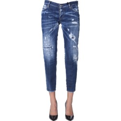 Dsquared2 Jennifer Cropped Jeans found on Bargain Bro Philippines from italist.com us for $410.92