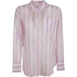 MSGM Semi Lace Stripe Shirt found on Bargain Bro UK from Italist