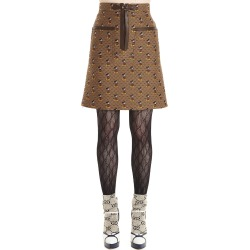 Gucci gg Canvas Skirt found on MODAPINS from Italist for USD $1804.74