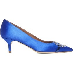 Malone Souliers Mason 45 Satin Pumps found on MODAPINS from italist.com us for USD $452.49