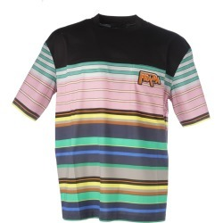 Prada Striped T-shirt found on Bargain Bro India from Italist Inc. AU/ASIA-PACIFIC for $513.08