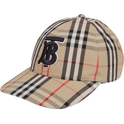 Burberry Cappello Tb Check Baseball found on Bargain Bro India from italist.com us for $319.53