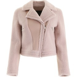 Blancha Shearling Biker Jacket found on MODAPINS from italist.com us for USD $1201.91