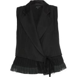 Ann Demeulemeester Silk And Linen Waistcoat
