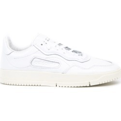 Adidas Originals White Leather Low Top Sneakers found on Bargain Bro UK from Italist for $134.46