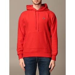 Lacoste L!ve Sweatshirt Lacoste Live Cotton Sweatshirt With Logo found on Bargain Bro UK from Italist