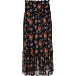 MSGM Printed Georgette Maxi Skirt found on Bargain Bro UK from Italist