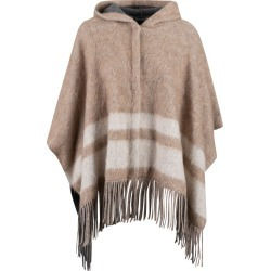 Brunello Cucinelli Fringed Hem Hooded Poncho found on Bargain Bro UK from Italist