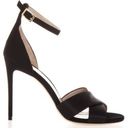 Aldo Castagna Powder Kira Sandals In Black Leather found on MODAPINS from Italist for USD $203.32